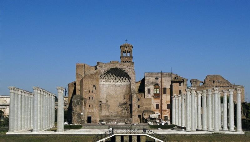 Tempio di Venere e Domus Aurea vicino al Biancagiulia Bed and Breakfast Roma Stazione Termini