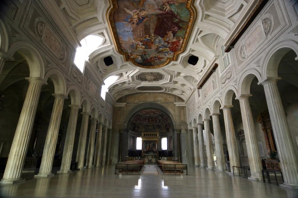 Chiesa San Pietro in Vincoli vicino al Biancagiulia Bed and Breakfast Roma Stazione Termini